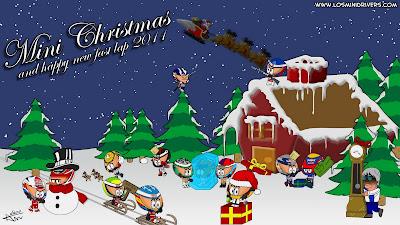 Рождественская открытка от Los MiniDrivers 2010