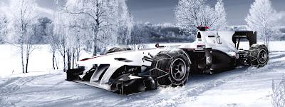 баннер Sauber Motorsport с Рождеством и с наступающим Новым Годом