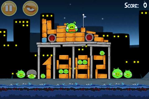 трибьют Кеке Росбергу в Angry Birds