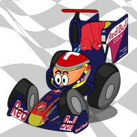 Себастьян Буэми в болиде Toro Rosso