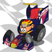 Хайме Альгерсуари в болиде Toro Rosso
