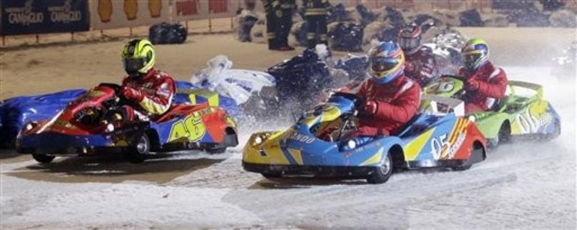 картинговая гонка Wrooom 2011