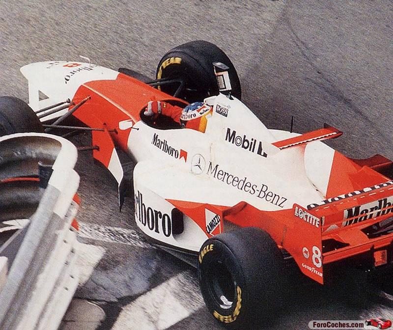 Дэвид Култхард на McLaren Гран-при Монако 1996