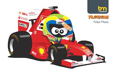 Фелипе Масса Ferrari pilotoons 2011