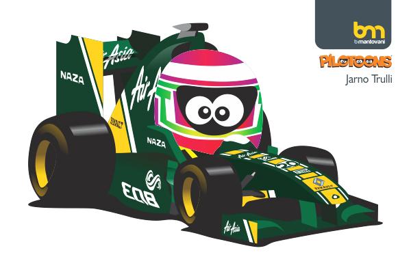 Ярно Трулли Lotus 2011 pilotoons
