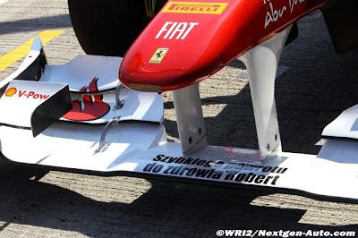 Ferrari на тестах в Хересе желает Роберту Кубице скорейшего выздоровления
