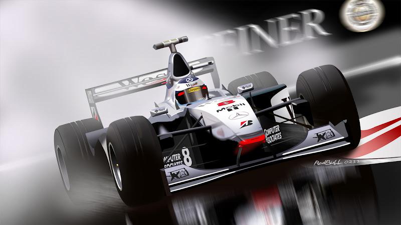 Мика Хаккинен McLaren by RedBull 0211