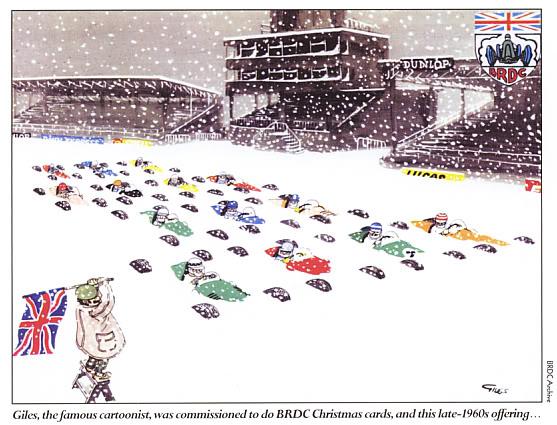 комикс Формула-1 под снегом