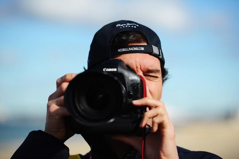 фотограф Марк Уэббер на Гран-при Австралии 2011