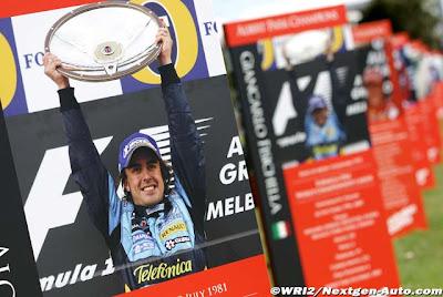 Фернандо Алонсо победитель Гран-при Австралии 2006