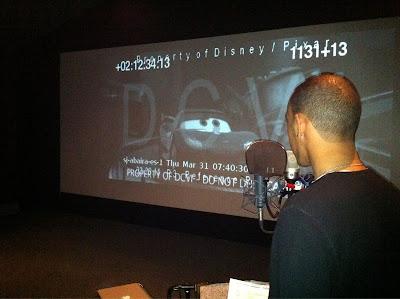 Льюис Хэмилтон озвучивает своего персонажа в Тачках 2 от студии Disney Pixar