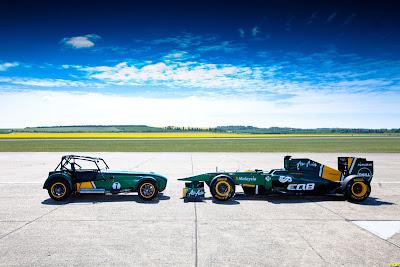 Team Lotus подтверждает приобретение Caterham Cars