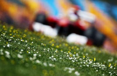 Фернандо Алонсо Ferrari на трассе Истамбул-Парка Гран-при Турции 2011