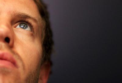 фото Себастьян Феттель на Гран-при Испании 2011