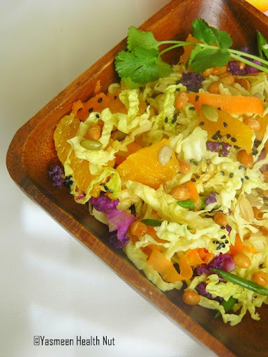 Homemade cabbage coleslaw recipe