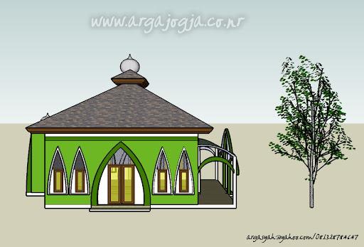 Desain Masjid Gambar Masjid Desain Mushola Portal