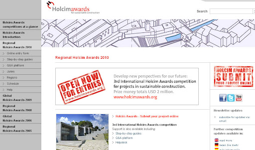 Lomba Desain International Holcim Awards Competition