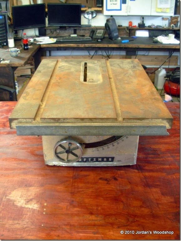Jordan life restoring my grandfathers craftsman table saw this is the saw when i first brought it out of storage you can see the table the cast iron top is extremely rust covered and in need of some real love greentooth Gallery