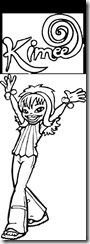 Hi5 coloring pages