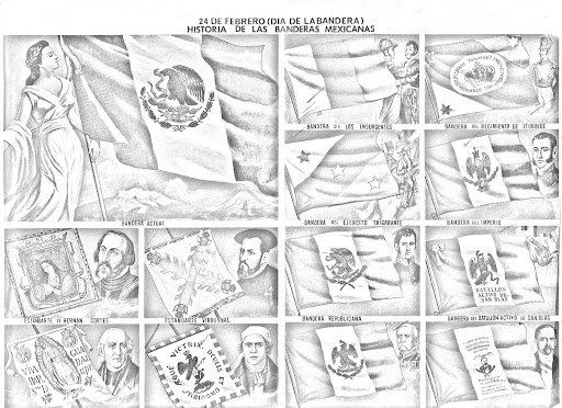 History of the flags of Mexico