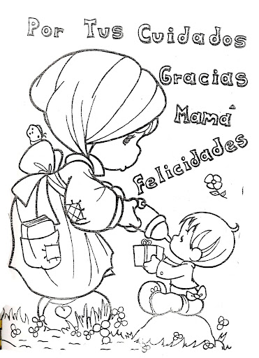 Mother's Day Precious Moments Drawings