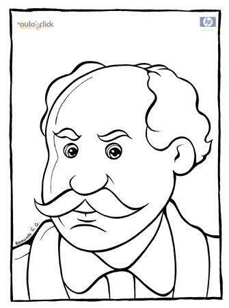 Mexican revolution heroes: Alvaro Obregón, Aquiles Serdán y Emiliano Zapata coloring pages