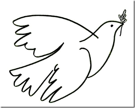 Peace coloring pages