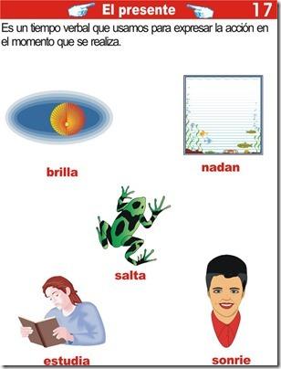 El presente – ejercicios de tiempo verbal presente para primaria