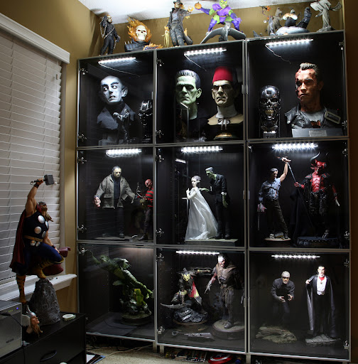 Besides detolf what other cases are there page 7 for Hot toys display case ikea