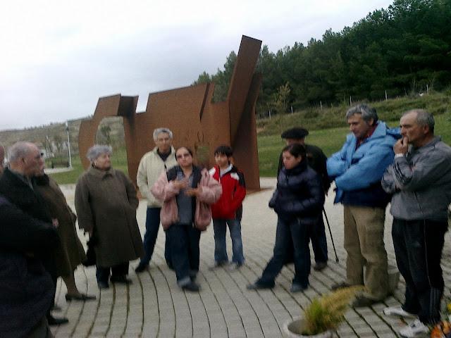 Delegación de Guatemala en el Parque de la Memoria