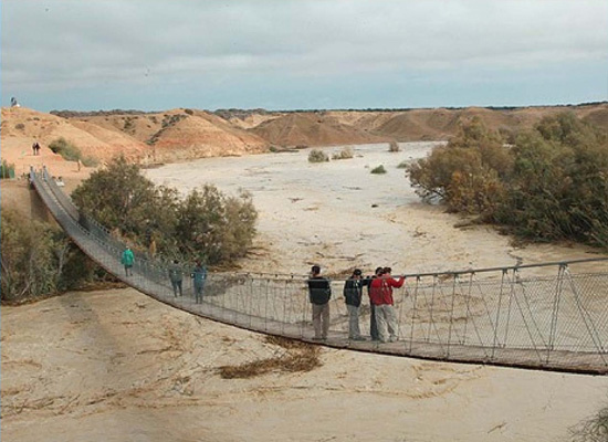 Negev Desert Flood