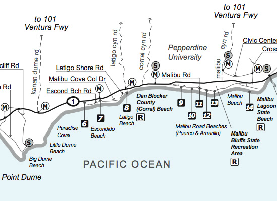 Malibu Public Beaches
