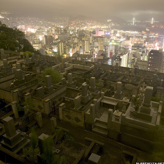 Nagasaki cemetery