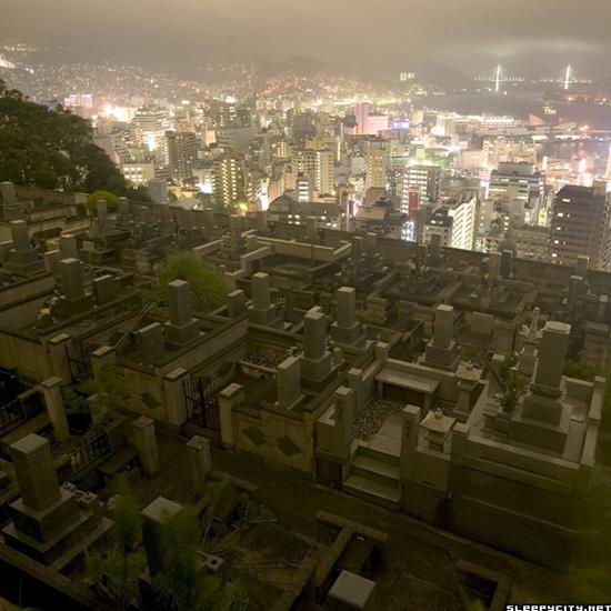 Nagasaki cemetery