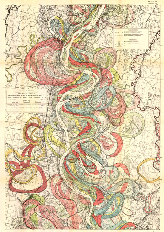 Geological Investigation of the Alluvial Valley of the Lower Mississippi River