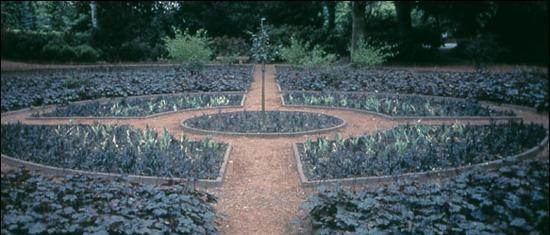 Jenny Holzer's Black Garden