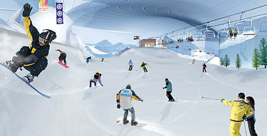 Keeping Cool in Texas: Indoor Ski Resort Coming to the US