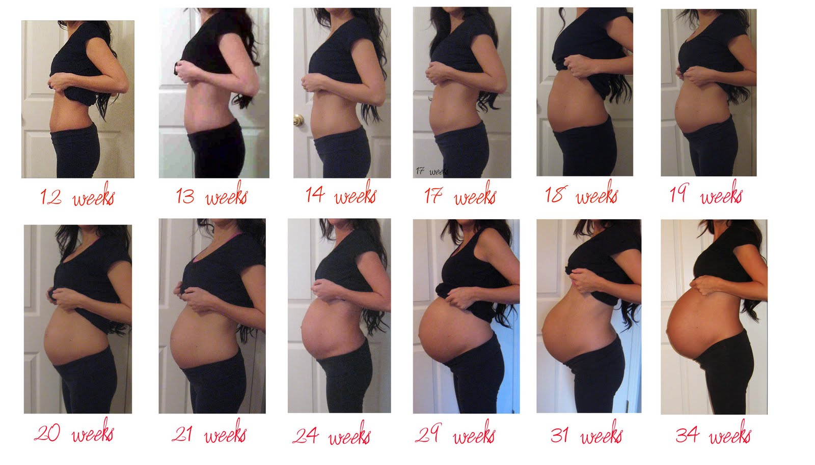 image Pregnant preggo 7 month