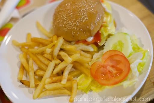 burger special pondok cafe