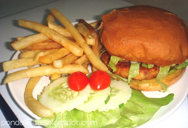 burger pondok cafe