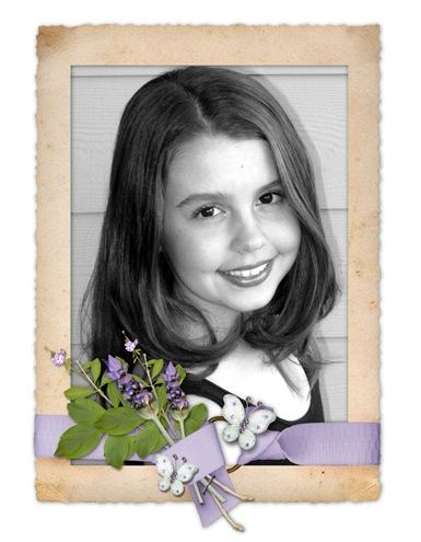 kaitlyn lavendar frame