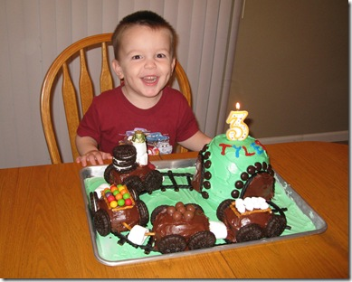 ty bday cake