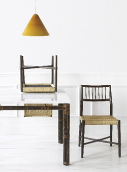 McGuire Danish Kitchen Chairs