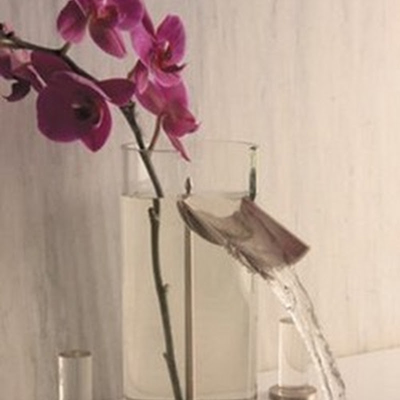 Lucite and Glass Faucet