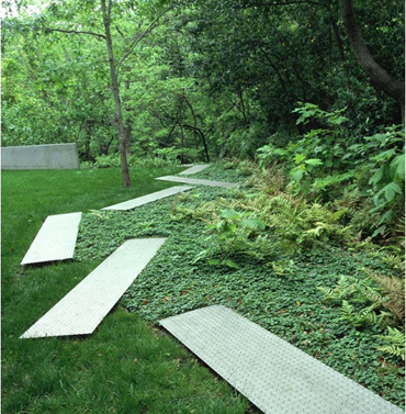 Garden Pathway michael van valkenburgh associates1