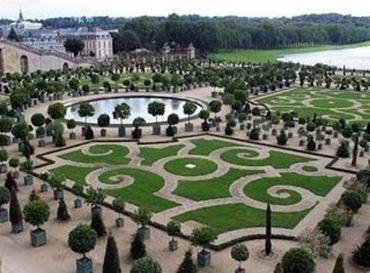 Garden Pathway Versailles