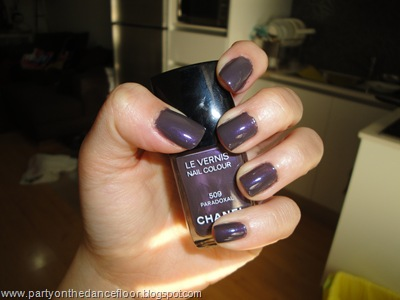 Chanel Paradoxal swatch