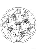 Fiestas . mandalas navidad (13)