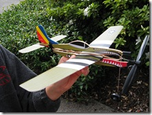 Closeup of Tylers plane Apr 09