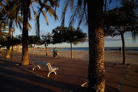 Passeig marítim de Ponent, platja Horta de Santa MariaCambrils, Baix Camp, Tarragona